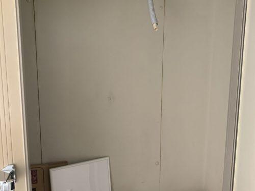十分な容量のある作り付けの冷蔵庫完備!