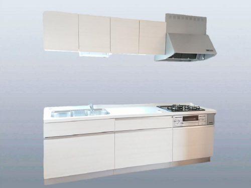 【同仕様写真】キッチンはハウステック製の新品に交換します。(キッチン)